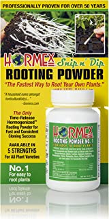 Hormex Rooting Hormone Powder #1 | for Easy to Root Plants | IBA Rooting Powder Compound for Strong & Healthy Roots