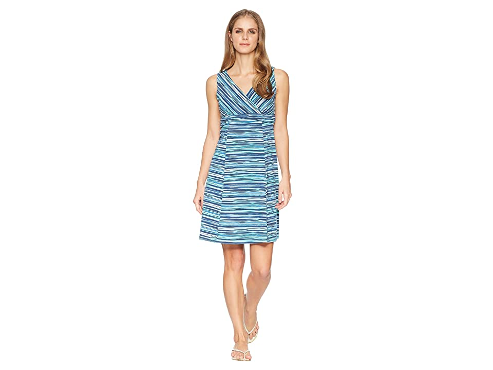 Royal Robbins All-Around Dress (Turkish Sea Print) Women