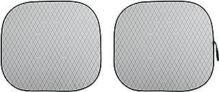Pilot Automotive SWR-0210 Sunshade (Special Edition Swarovski Crystal Embellished Collapsible - White, Diamond Stitched)
