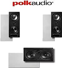 Polk Audio 265-LS + 255C-LS Vanishing Series 3.0 High Performance In-Wall Speaker System