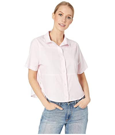 Hurley Wilson Shipwrecks Short-Sleeve Top (Pink Gaze) Women