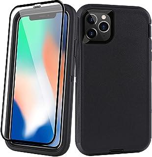 Heavy Duty Case for iPhone 11 Pro Max + Square Edge Protection Clear Case for iPhone 11 Pro Max