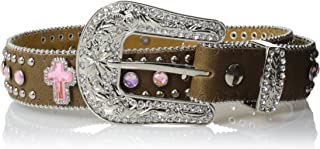 Nocona Girl's Interchangeable Buckle Cross Conchos Belt