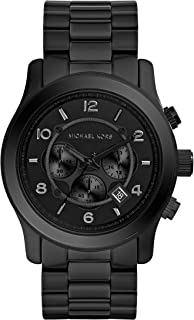Men's Black Tonal Runway Watch
