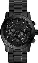 Michael Kors Men's Black Tonal Runway Watch