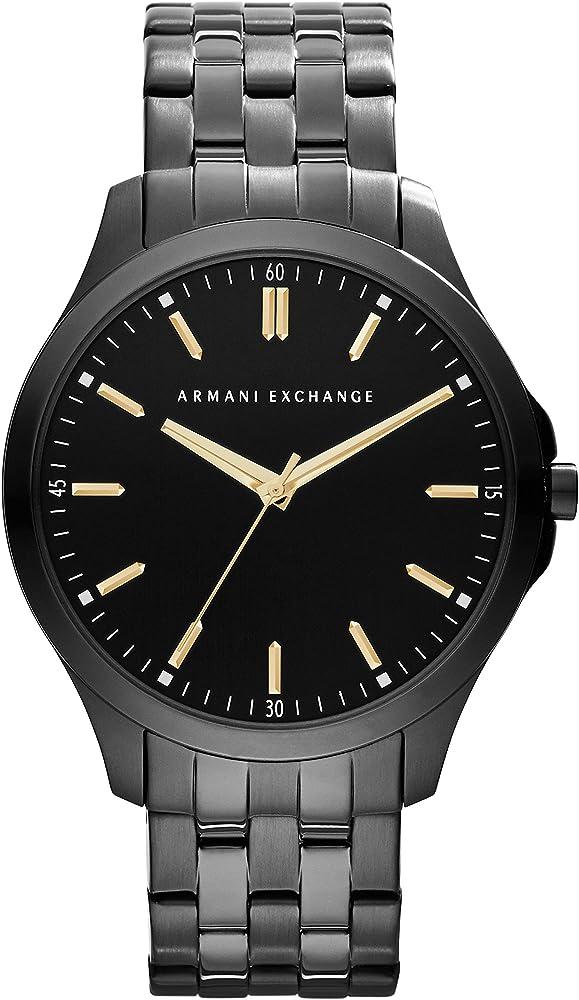 Armani exchange orologio analogico uomo in acciaio inossidabile AX2144