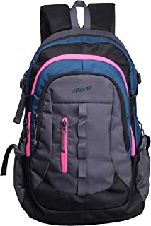 F Gear Defender V2 45 Liters (Navy Blue, Pink) Rucksack