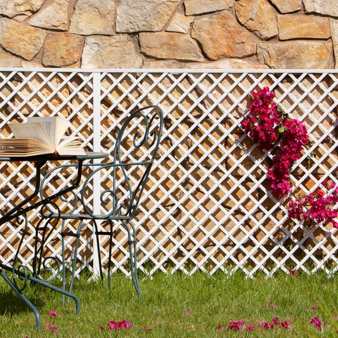 Celosia Pvc 48 Mm Panel Para Valla Jardin en varios colores ...