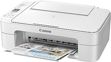 Canon Pixma TS3320 White, Works with Alexa