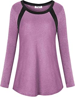 Bobolink Women Short Sleeve Workout Tops Gym Shirts Loose Fit Yoga Activewear Clothes