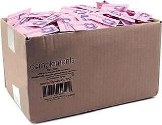 Complements Zero Calorie Saccharin Pink Sweetener Packets, 2000 Count