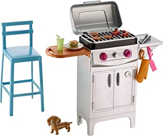 Barbie BBQ Grill Furniture & Accessory Set