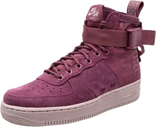 Nike Womens Sf Air Force 1 Mid Fif Casual Sneakers,