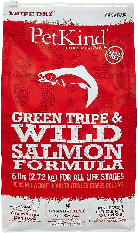 Pet Kind 6 lb Dry Formula Tripe Wild Salmon Dog Food, One Size