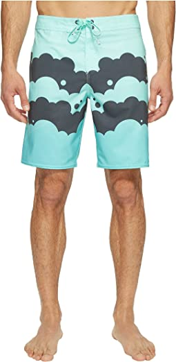 Hyperfreak Brooklyn Clouds Superfreak Series Boardshorts