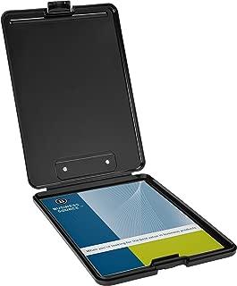 Business Source Plastic Storage Clipboard - Black - Letter-Size (37513)