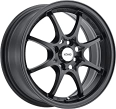 Konig Helium YHI MATTE BLACK Wheel (15x6.5____/4x100mm)