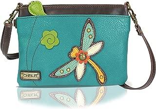 Mini Crossbody Handbag, Multi Zipper, Pu Leather, Small Shoulder Purse Adjustable Strap