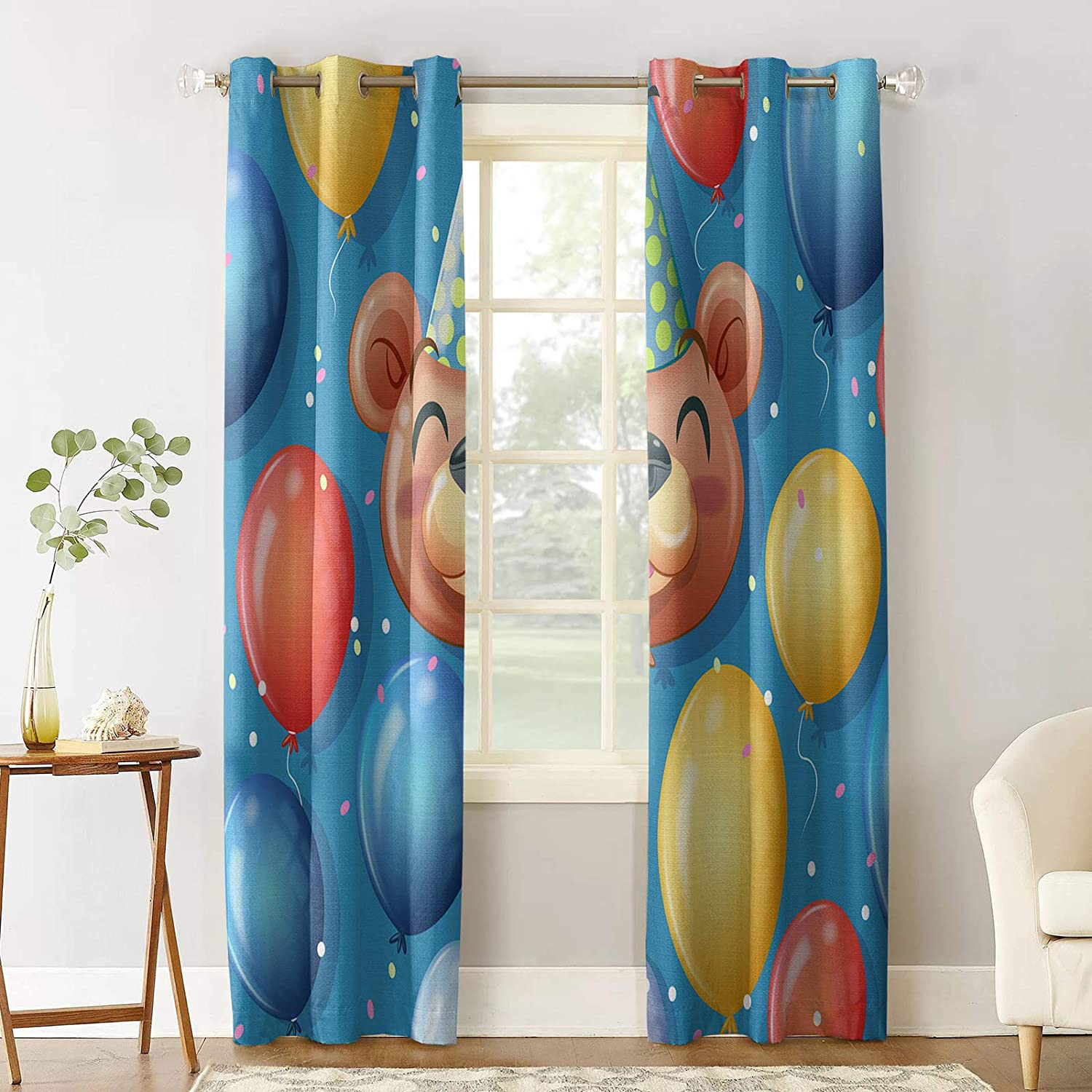 Prime Leader Blackout New life Indefinitely Curtain for Balloo Party Colorful Bedroom