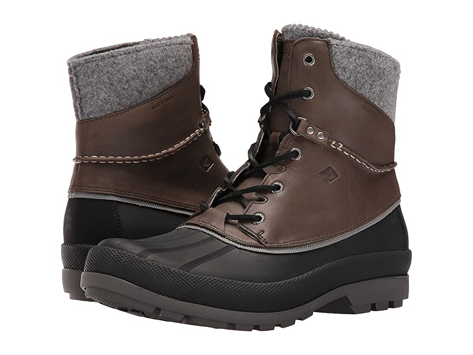 Sperry Cold Bay Boot w/ Vibram Arctic Grip (Grey) Men