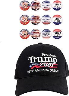Best Keep America Great Hat Donald Trump Slogan Cap Adjustable Baseball Hat Trump 2020 Campaign Cap Embroidered USA Hat Reviews