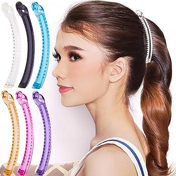 ks 12cm BLACK or Tort  BROWN Banana Hair Comb Clip Hair Grip Hair Accessories