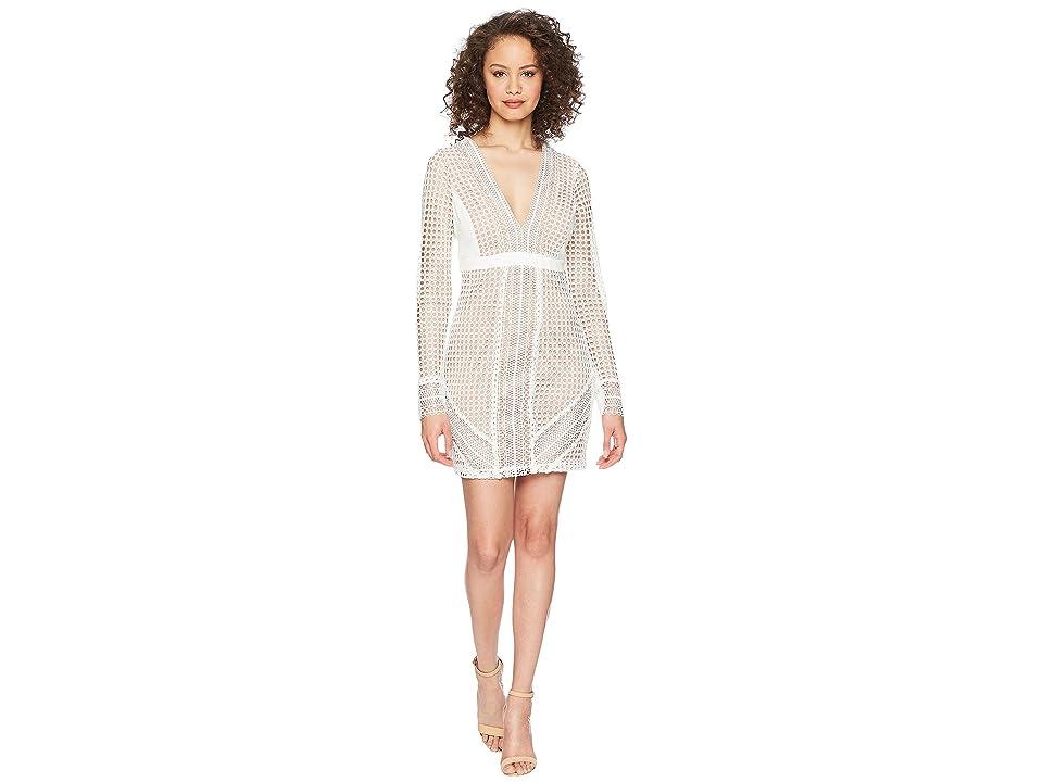 Bardot Clio Panelled Dress (Ivory) Women