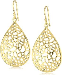 18k Gold-Plated Sterling Silver Drop Earrings