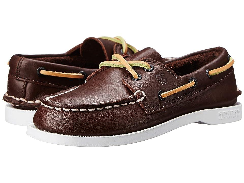Sperry Kids Authentic Original (Toddler/Little Kid/Big Kid) (Brown) Kids Shoes