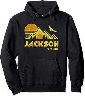 Jackson Hole Hoodie Retro Pullover Sweatshirt