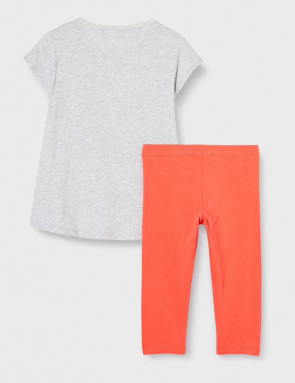 MEK Compl.t-Shirt+pescatore T//U Conjunto de Ropa para Ni/ñas