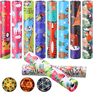 Sumind 10 Pieces Classic Kaleidoscope Toys Magic Kaleidoscopes Educational Toy Kaleidoscope for Kids Children Birthday and...