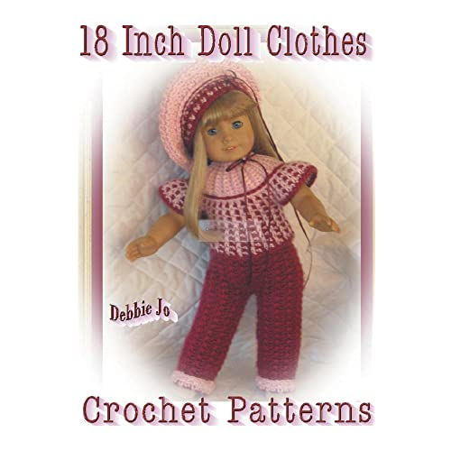 8abfd93d66a Crochet Doll Clothes Patterns  Amazon.com