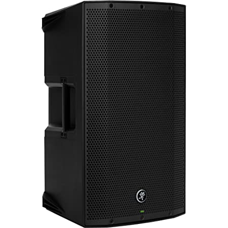 Mackie THUMP Series, 12-Inch 1300-Watt Loudspeaker with High Performance Amplifiers Built-in Mixers and Power Factor Correction - Black (THUMP12A)
