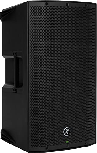 Mackie THUMP Series, 12-Inch 1300-Watt Loudspeaker with High Performance Amplifiers Built-in Mixers and Power Factor ...