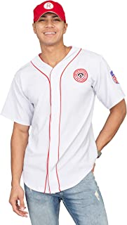 A League of Their Own Rockford Peaches AAGPBL Baseball Mens Jersey and Hat