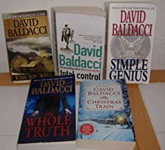 The Whole Truth, Wish You Well, Total Control, Simple Genius & The Christmas Train (5 Books)