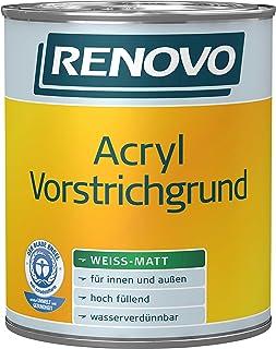 2,5 Liter Renovo Acryl Vorstrichgrund WEISS