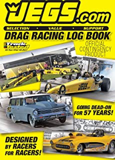 JEGS Drag Racing Log Book - 2017, track each run and all the variables