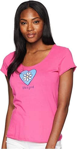 Daisy Love Smooth Scoop Tee
