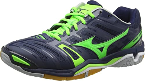 Mizuno Wave Stealth 4, Chaussures Multisport Indoor Homme