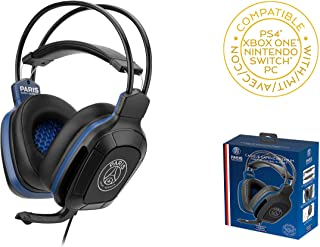 PSG - PARIS Saint Germain - Gaming Headset 50 mms with Micor For PS4 - Xbox One - PC - Nintendo Switch (Only with Fortnit...