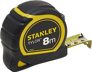 Stanley Bandmaat Tylon (8 m, Tylon-polymeer beschermlaag, verschuifbare eindhaak, kunststof behuizing) 0-30-657