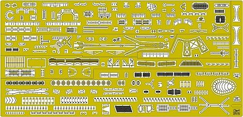 calidad fantástica Hasegawa QG38 - Plantilla Plantilla Plantilla de fotograbado con las piezas del barco IJN Light Cruiser Agano Basic B [Importado de Alemania]  Sin impuestos