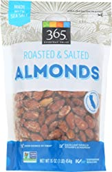 365 Everyday Value, Roasted & Salted Almonds, 16 oz