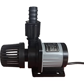 Jebao/Jecod DCS-1200 DC Water Pump 320GPH 4.9ft for Marine Reef Tanks Sump Skimmer Protein