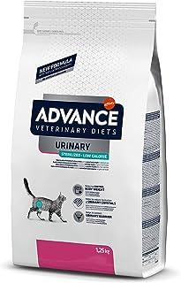 Advance Veterinary Diets Urinary Low Calorie - Pienso para Gatos, 1.25 kg