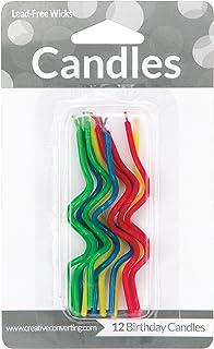 "Creative Converting Birthday Cake Candle, 3.25"", Multicolored"