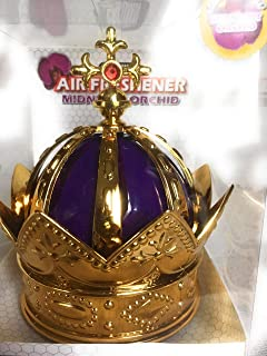 Weilin Crown Air Freshener Purple -There are Two Scent for Your Choice, (1) Midnight Orchid and (2) Lavender Scent
