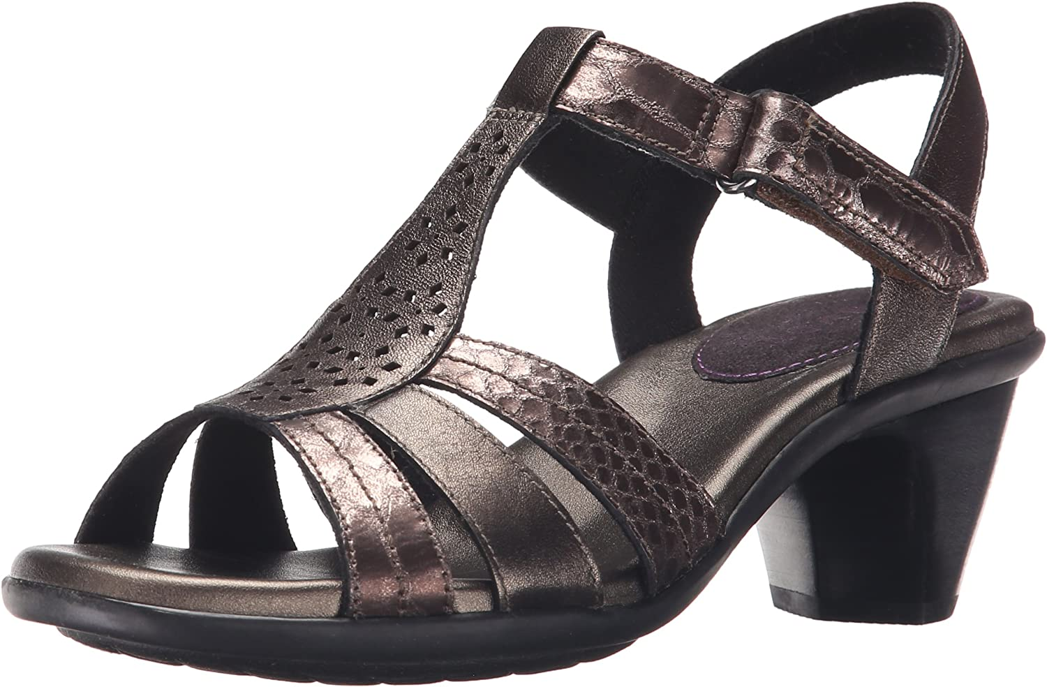 Aravon Women's Mary-AR, Pewter, 9.5 2A US